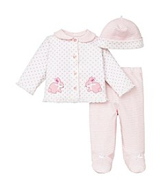 Little Me® Baby Girls' Bunny Dot Take Me Home Set