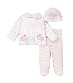 Little Me® Baby Girls' Bunny Dot Take Me Home Set