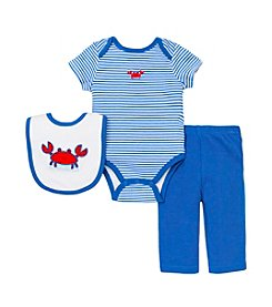 Little Me® Baby Boys' 3-Piece Cute Crab Set