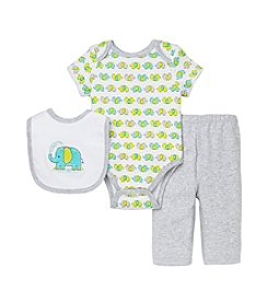 Little Me® Baby Boys' 3-Piece Elephant Outfit Set