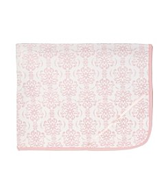 Little Me® Baby Girls' Damask Scroll Blanket