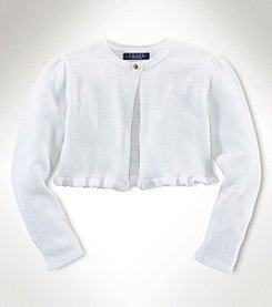 Chaps® Baby Girls' Shrug Sweater