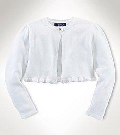 Chaps® Baby Girls' Shrug Sweater
