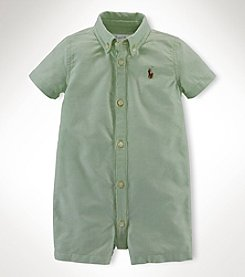 Ralph Lauren Childrenswear Baby Boys' Oxford Shortalls