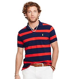 Polo Ralph Lauren® Men's Short Sleeve Striped Mesh Polo