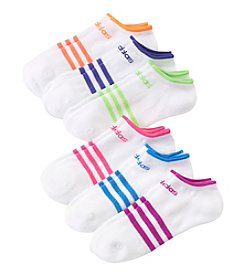 adidas® 6 Pack ClimaLite SuperLite No Show Socks
