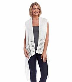 Basha Crochet Edge Vest