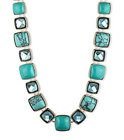 Anne Klein® Goldtone and Turquoise Necklace