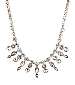 Givenchy® Goldtone Bib Frontal Necklace