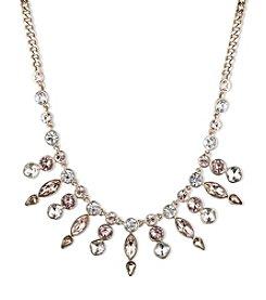 Givenchy® Goldtone Bib Frontal Necklace