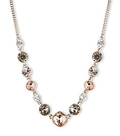 Givenchy® Goldtone Frontal Necklace