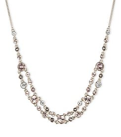 Givenchy® Goldtone Two-Row Frontal Necklace