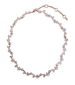 Givenchy® Rose Goldtone Collar Necklace