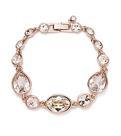 Givenchy® Rose Goldtone Silk Flex Bracelet