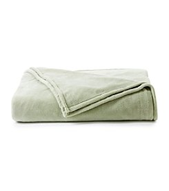 LivingQuarters Sage Micro Cozy Blanket