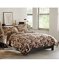 Field & Stream® Wolf Camo 3-pc. Quilt Set