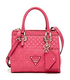 GUESS Sunset Quilted Small Status Satchel