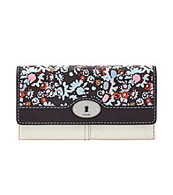 Fossil® Marlow Printed Leather Flap Clutch
