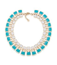 Carolee® Goldtone Island Daiquiri Collar Necklace