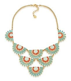 Carolee® Goldtone Island Daiquiri Bib Necklace