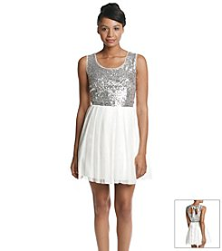 Bee Darlin' Sequin Top Party Dress