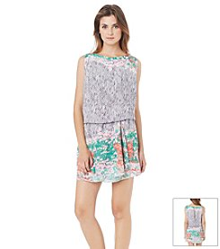Sam Edelman™ Boarder Print Dress