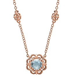 0.02 ct. t.w. Diamond Necklace in 10K Rose Gold