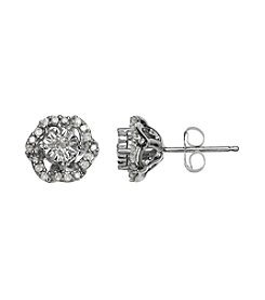 0.16 ct. t.w. Diamond Earrings in 10K White Gold