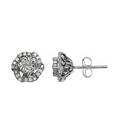 0.16 ct. t.w. Diamond Earrings in 10K White Gold