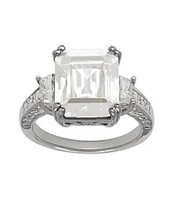 Swarovksi® Crystal Ring in Sterling Silver