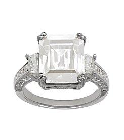 Swarovksi® Crystal Ring in Sterling Silver