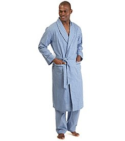 Nautica® Men's Woven Plaid Robe