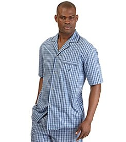 Nautica® Men's Woven Plaid Camp Shirt