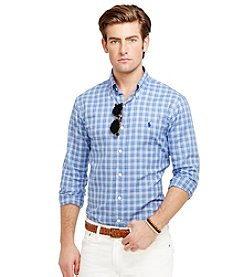 Polo Ralph Lauren® Men's Long Sleeve Plaid Oxford