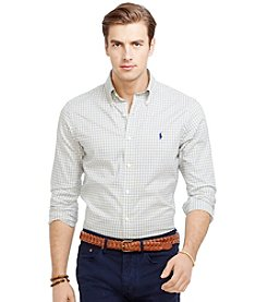 Polo Ralph Lauren® Men's Long Sleeve Check Oxford