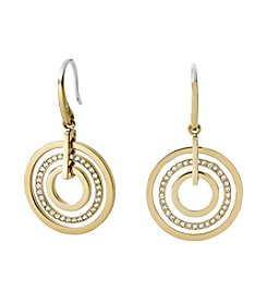 Michael Kors® Goldtone Circle Earrings