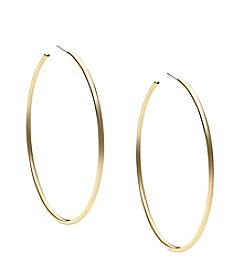 Michael Kors® Goldtone Large Delicate Hook Earrings