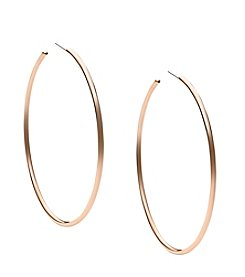 Michael Kors® Goldtone Large Delicate Hoop Earrings