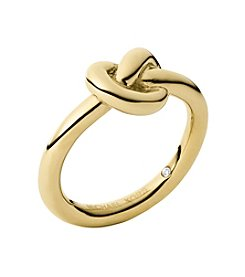 Michael Kors® Goldtone Large Knot Ring