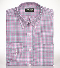 Lauren Ralph Lauren® Men's Regular Fit Gingham Dress Shirt