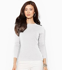 Lauren Ralph Lauren® Zippered-Shoulder Shirt