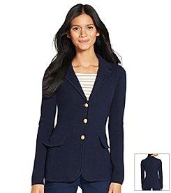 Lauren Ralph Lauren® Cotton Sweater Blazer