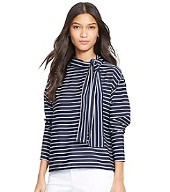 Lauren Ralph Lauren® Striped Boatneck Blouse