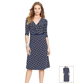 Lauren Ralph Lauren® Surplice Jersey Dress