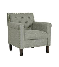 Baxton Studios Thalassa Linen Modern Arm Chair