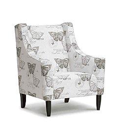 Baxton Studios Hammarby Beige Linen Accent Chair