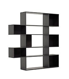Baxton Studios Lanahan Dark Brown 5-Level Modern Display Shelf