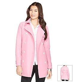 Lauren Ralph Lauren® Double-Breasted Trench Coat