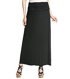 AGB® Solid Knit Maxi Skirt