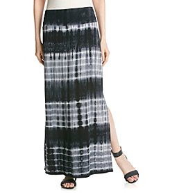 AGB® Tie Dye Knit Maxi Skirt